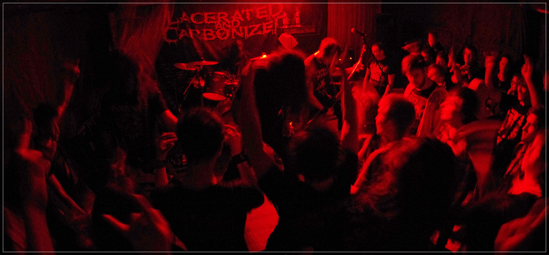 LACERATED AND CARBONIZED (Бразилия)